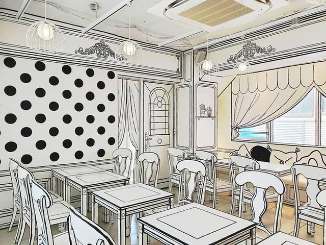 Đây là quán cafe ở Nhật Bản, không phải một trang truyện tranh bạn thường xem đâu - Ảnh 2.