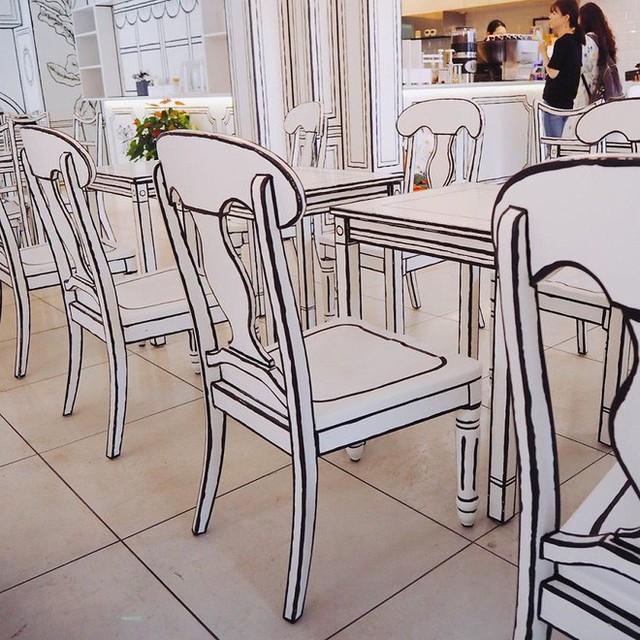 Đây là quán cafe ở Nhật Bản, không phải một trang truyện tranh bạn thường xem đâu - Ảnh 6.