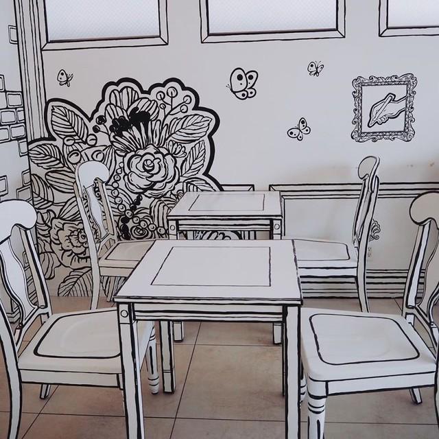 Đây là quán cafe ở Nhật Bản, không phải một trang truyện tranh bạn thường xem đâu - Ảnh 8.