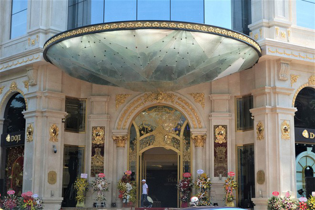 Ngắm tòa nhà hình viên kim cương khổng lồ siêu độc ở Hà Nội - Ảnh 5.