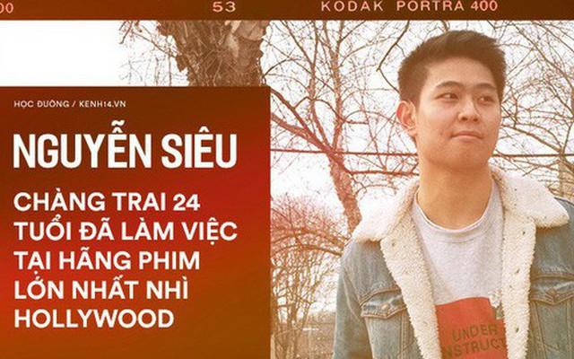 Chàng trai Việt làm việc tại hãng phim Hollywood: