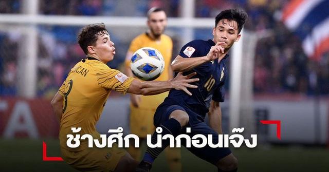 Báo Thái Lan thất vọng tràn trề, lo sợ kịch bản bị loại sớm sau trận thua đau Australia - Ảnh 2.