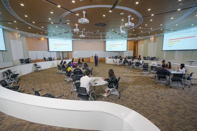 Cận cảnh Đại học tinh hoa VinUni: Đại học tư thục phi lợi nhuận đầu tiên của Việt Nam, vốn đầu tư lên tới 6.500 tỷ đồng, không gian đẹp không kém các trường châu Âu - Ảnh 3.