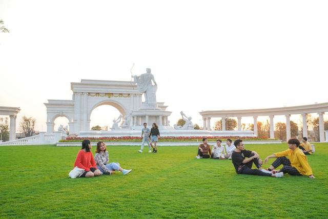 Cận cảnh Đại học tinh hoa VinUni: Đại học tư thục phi lợi nhuận đầu tiên của Việt Nam, vốn đầu tư lên tới 6.500 tỷ đồng, không gian đẹp không kém các trường châu Âu - Ảnh 10.