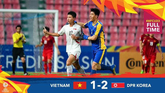 Việt Nam bị loại từ vòng bảng giải U23 châu Á sau thất bại 1-2 trước CHDCND Triều Tiên - Ảnh 3.