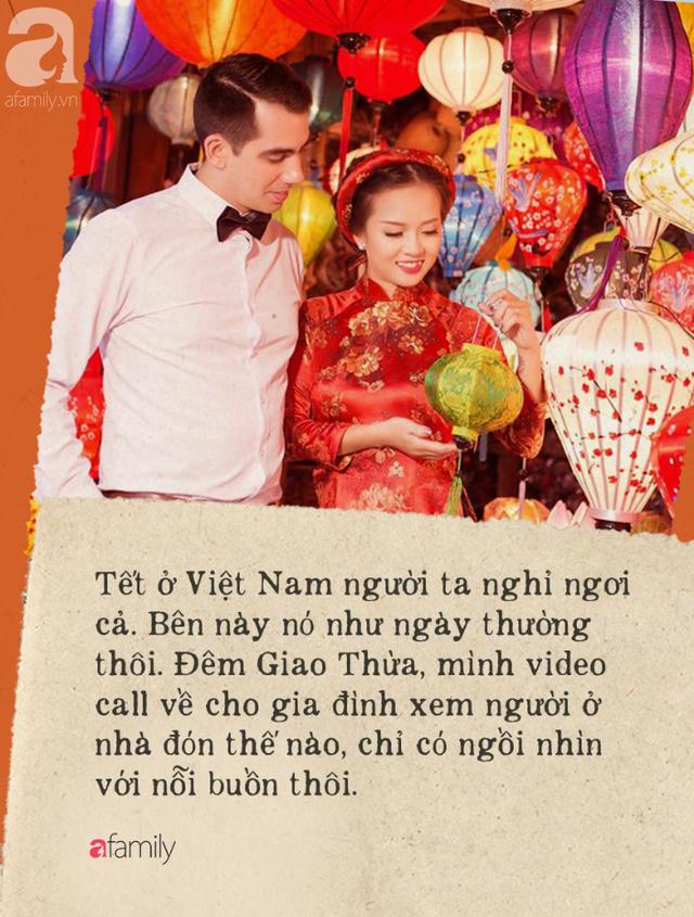 Gái Việt lấy chồng Tây: Chồng lao vào sắm sửa cho vợ bê cả Tết Việt Nam sang xứ người, phản ứng của bố mẹ chồng mới thú vị - Ảnh 3.
