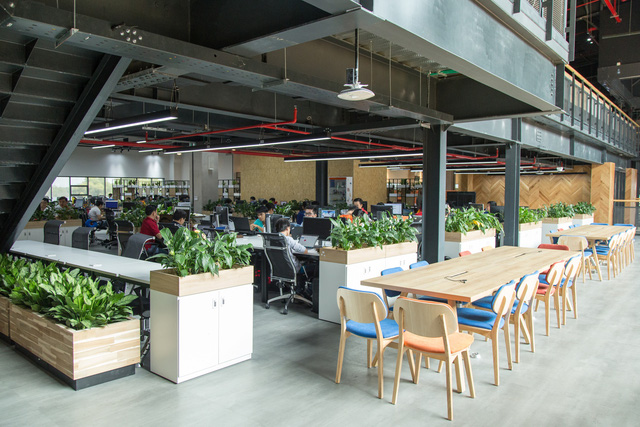 3 văn phòng đẹp và hiện đại bậc nhất Việt Nam, số 2 có cả tiệm cà phê, phòng gym, nhà giữ trẻ bên trong - Ảnh 16.