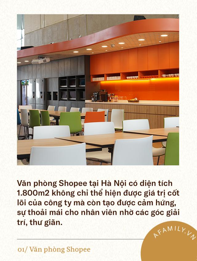 3 văn phòng đẹp và hiện đại bậc nhất Việt Nam, số 2 có cả tiệm cà phê, phòng gym, nhà giữ trẻ bên trong - Ảnh 3.