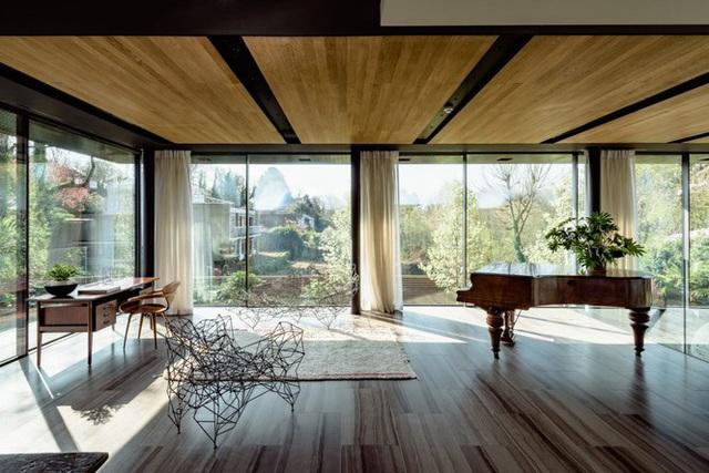 Đã mắt với vẻ đẹp ngôi nhà giữa rừng ngắm mãi không chán - Ảnh 3.