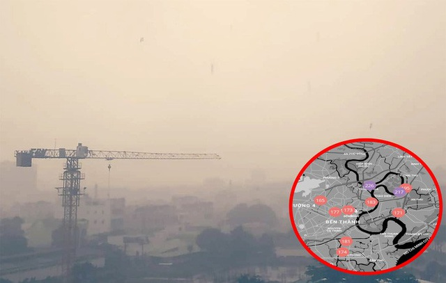 Thủ phạm gây ô nhiễm không khí, trắng đục bầu trời tại TP HCM - Ảnh 1.