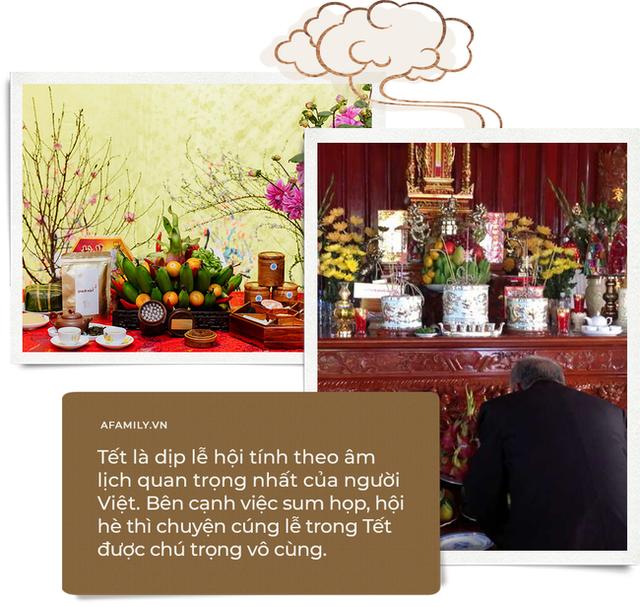 Cúng lễ Tết thời hiện đại: Cách lau dọn bàn thờ đúng và những mâm cỗ nhất định phải có - Ảnh 1.