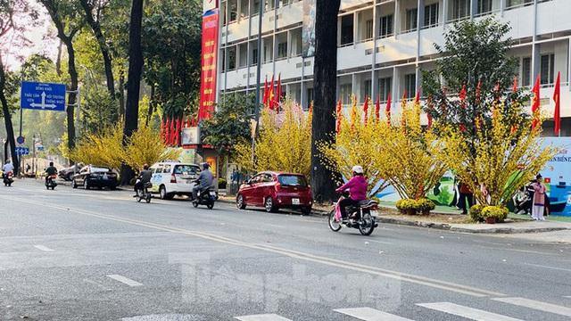 Đường phố Sài Gòn thông thoáng ngày đầu nghỉ Tết Nguyên đán 2020 - Ảnh 10.
