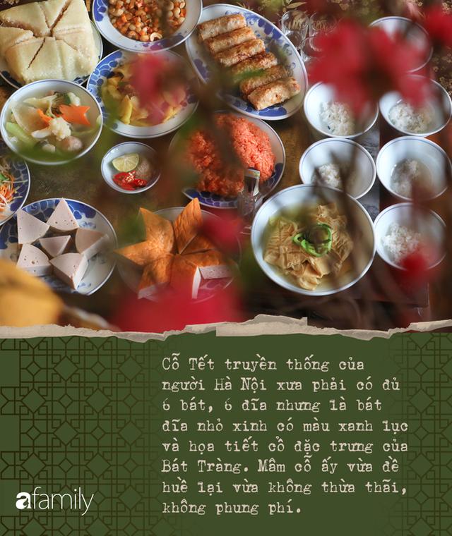 Mâm cỗ Tết của người Hà Nội: Không chỉ là nếp nhà mà còn rèn giũa khuôn phép, dạy con cháu về cái đẹp - Ảnh 9.