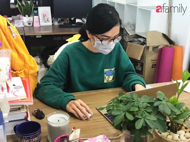 Lo sợ cúm Corona bùng phát, một công ty ở Hà Nội lì xì mỗi nhân viên 1 hộp khẩu trang trong ngày đầu đi làm - Ảnh 12.