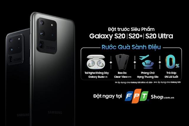 Từ hôm nay, khách hàng đã có thể đặt trước bộ ba siêu phẩm thuộc thế hệ Galaxy S20 - Ảnh 1.