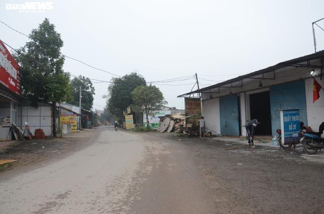 Ảnh: Cận cảnh bên trong tâm dịch tại Vĩnh Phúc, nơi có hơn 10.000 dân bị cách ly hoàn toàn - Ảnh 5.