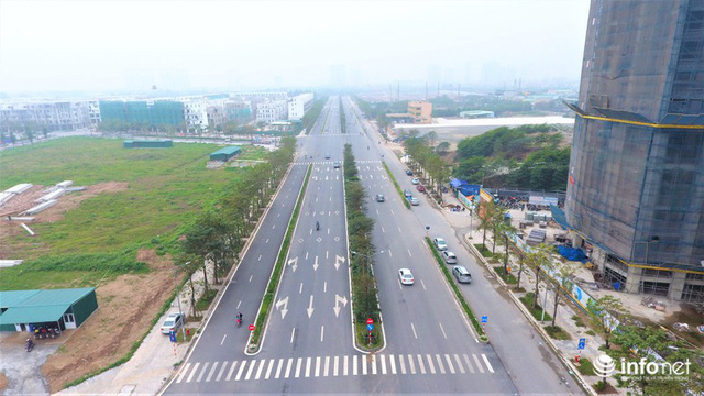Hà Nội: Cận cảnh tuyến đường Nguyễn Xiển - Xa La nghìn tỷ vừa thông xe - Ảnh 3.