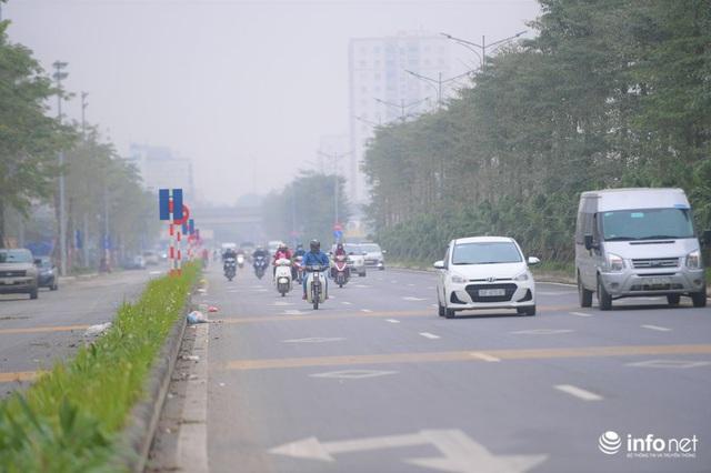 Hà Nội: Cận cảnh tuyến đường Nguyễn Xiển - Xa La nghìn tỷ vừa thông xe - Ảnh 6.