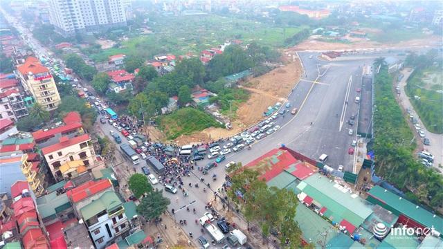 Hà Nội: Cận cảnh tuyến đường Nguyễn Xiển - Xa La nghìn tỷ vừa thông xe - Ảnh 8.