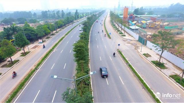 Hà Nội: Cận cảnh tuyến đường Nguyễn Xiển - Xa La nghìn tỷ vừa thông xe - Ảnh 10.