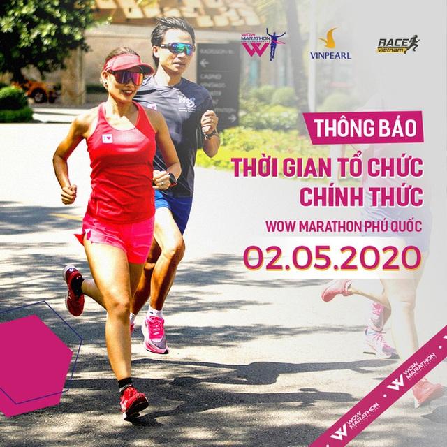 Wow Marathon Phú Quốc 2020 công bố thời gian tổ chức chính thức - Ảnh 1.