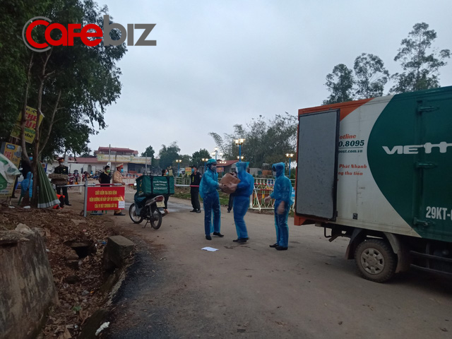 Không ngại corona, Viettel Post sẵn sàng vận chuyển miễn phí hàng cứu trợ đến tâm dịch Sơn Lôi, Vĩnh Phúc - Ảnh 1.