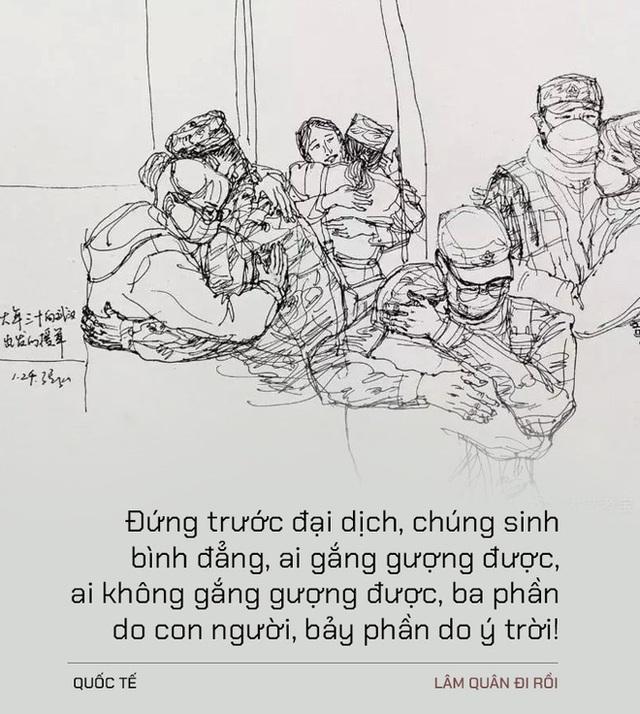 Chúng ta đều là những nhân vật nhỏ bé: Tiếng lòng day dứt của bác sĩ Vũ Hán dành cho chủ quầy hàng nhỏ cạnh bệnh viện - Ảnh 1.