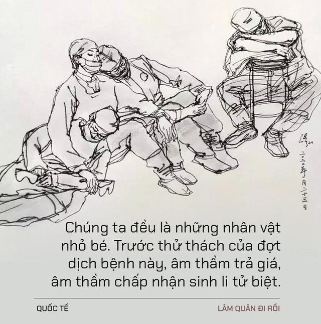 Chúng ta đều là những nhân vật nhỏ bé: Tiếng lòng day dứt của bác sĩ Vũ Hán dành cho chủ quầy hàng nhỏ cạnh bệnh viện - Ảnh 3.