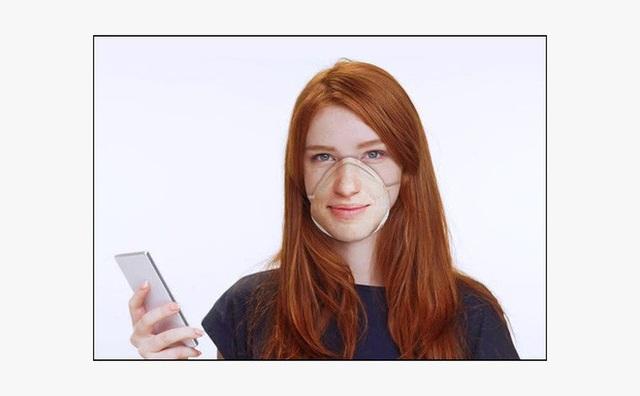 Sản xuất thành công khẩu trang tương thích với Face ID của iPhone - Ảnh 1.