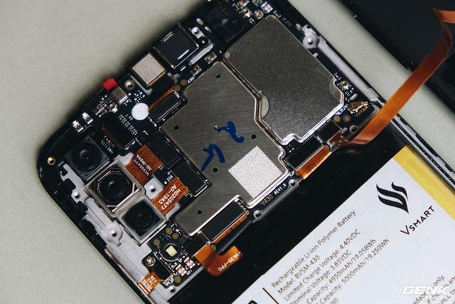 Điện thoại Vsmart Joy 3 giá rẻ và nội thất của máy - Hình 7