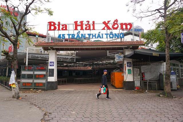 Hậu Nghị định 100 và Covid-19: Nhiều quán bia lớn ở Hà Nội đóng cửa - Ảnh 1.