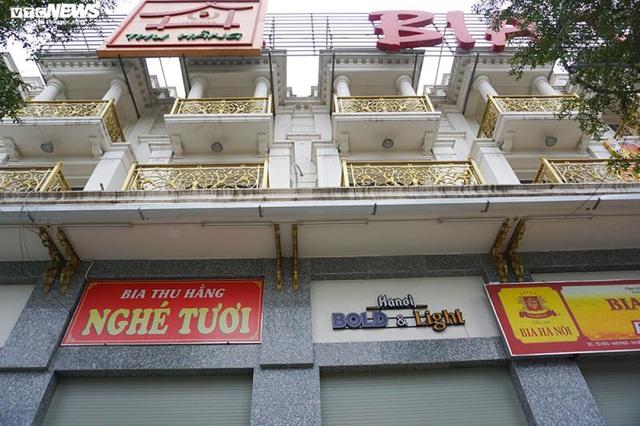 Hậu Nghị định 100 và Covid-19: Nhiều quán bia lớn ở Hà Nội đóng cửa - Ảnh 12.