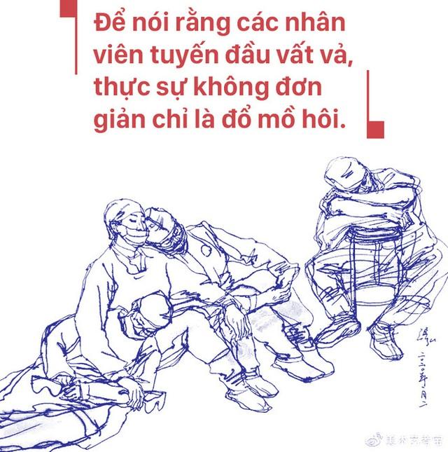 Bác sĩ ICU Vũ Hán chia sẻ chân thực: Các bệnh nhân nặng của đồng nghiệp đều tử vong, lấp đầy phòng bệnh chỉ cần 1 giờ - Ảnh 21.