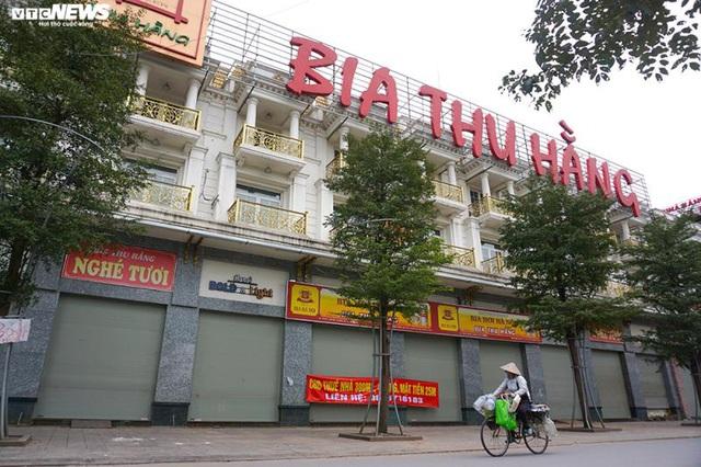 Hậu Nghị định 100 và Covid-19: Nhiều quán bia lớn ở Hà Nội đóng cửa - Ảnh 9.
