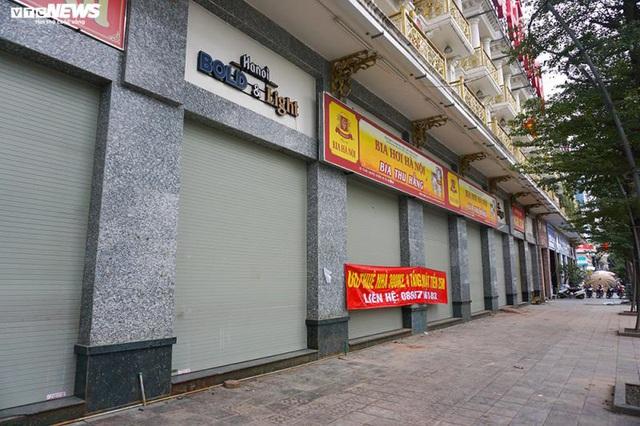 Hậu Nghị định 100 và Covid-19: Nhiều quán bia lớn ở Hà Nội đóng cửa - Ảnh 10.