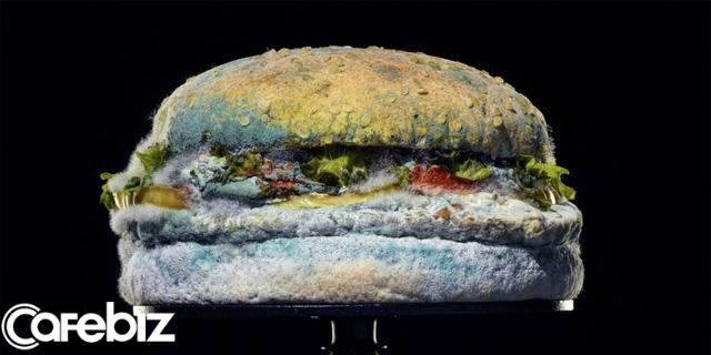 [Bài 23/2] Chiêu trò marketing ngược đời của Burger King: Quảng cáo bánh hamburger mốc meo, hứa hẹn sẽ khiến thực khách muốn ăn nhiều hơn! - Ảnh 1.