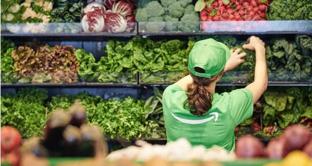 Bên trong cửa hàng thực phẩm không thu ngân đầu tiên của Amazon - Ảnh 1.