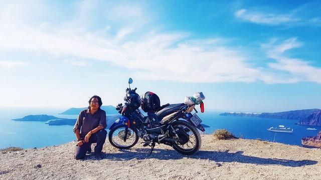 Phượt thủ Trần Đặng Đăng Khoa kỉ niệm 1000 ngày vòng quanh thế giới bằng xe cà tàng - Ảnh 8.