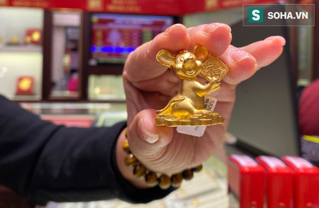Khẩu trang kín mít xếp hàng mua vàng ngày vía Thần Tài giữa tâm dịch corona - Ảnh 17.