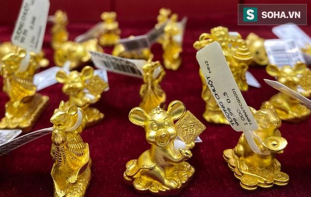 Khẩu trang kín mít xếp hàng mua vàng ngày vía Thần Tài giữa tâm dịch corona - Ảnh 18.