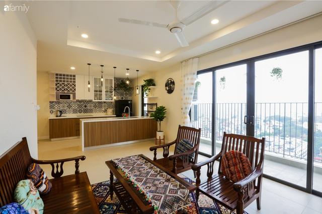 Ngắm căn hộ chung cư có view nhìn thẳng ra hồ Tây theo phong cách vintage tối giản, thoáng mát ai nhìn cũng mê - Ảnh 5.