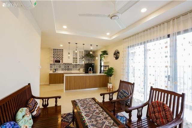 Ngắm căn hộ chung cư có view nhìn thẳng ra hồ Tây theo phong cách vintage tối giản, thoáng mát ai nhìn cũng mê - Ảnh 6.