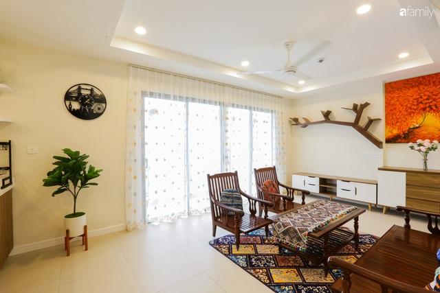 Ngắm căn hộ chung cư có view nhìn thẳng ra hồ Tây theo phong cách vintage tối giản, thoáng mát ai nhìn cũng mê - Ảnh 8.