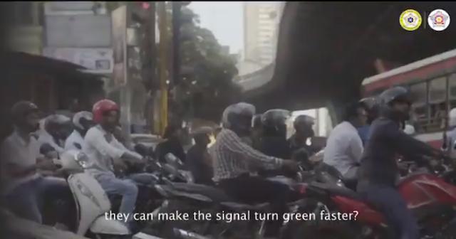 Đợi chờ là hạnh phúc: Ở Mumbai nếu dừng đèn đỏ mà bấm còi vượt mức 85 decibel thì mời bạn kiên nhẫn và đợi đèn...đếm ngược lại từ đầu - Ảnh 4.