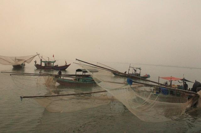 Ngư dân Hà Tĩnh hốt lộc trời đầu năm, kiếm tiền triệu sau vài giờ ra khơi - Ảnh 8.
