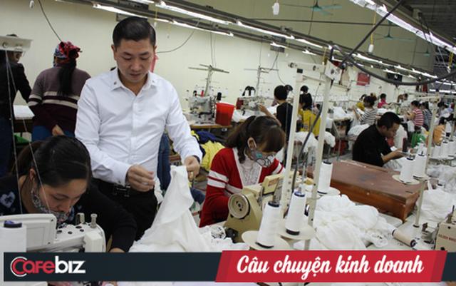 Lê Xuân Tráng: Từ cậu bé chưa học hết lớp 6, đi nhặt rác, rửa bát thuê đến ông chủ doanh nghiệp may Bắc Giang - Ảnh 2.