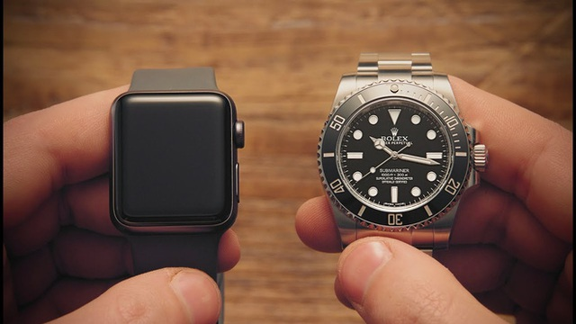 Bi kịch smartphone vs máy ảnh số có thể đang lặp lại với Apple Watch và đồng hồ Thụy Sĩ - Ảnh 1.