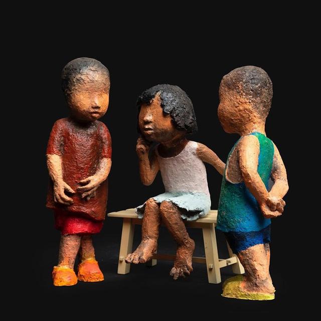 """Nghệ sĩ điêu khắc Đinh Công Đạt: """"Tôi từng cao ngạo nói, khách của Đạt rồ này không biết tiếng Việt vì toàn Tây"""" - Ảnh 4."""