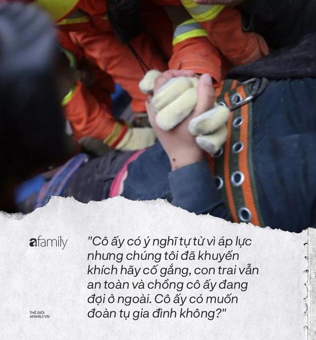 Dưới đống đổ nát của khách sạn cách ly ở Trung Quốc: Người đến từ vùng dịch chưa được giải cứu, người nằm bên chân con đợi đoàn tụ chồng - Ảnh 6.