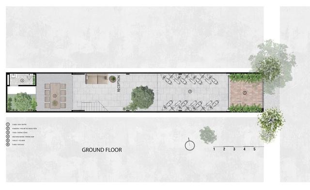 Sau chuyển đổi công năng, nhà ống bề ngang chưa đến 4 m trở thành văn phòng làm việc sang chảnh - Ảnh 12.